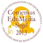 Auszeichnung Losleser - Logo Comenius Siegel 2013